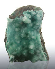 "2.8"" Sparkling Turquoise DRUZY CHRYSOCOLLA Crystals Gem Silica Chile for sale"