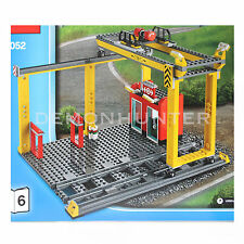 LEGO City Cargo Train Station Crane with 2 track 60052 Cargo Train - NO BOX