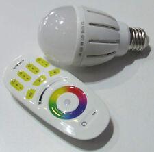 LAMPADA A LED RGB+W BIANCO FREDDO 6000-6500 KELVIN AC 220 VOLT