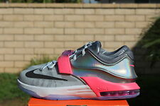 NIKE KD VII GS AS SZ 6.5 Y ALL STAR 2015 PLATINUM KEVIN DURANT ASG 7 744373 090