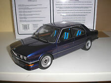 BMW E12 Alpina B7 S Turbo blaumetallic in 1:18 von OTTO 640