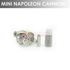 2-GEN Mini Signal Cannon 316L Stainless Steel Desk Napoleon Cannon Good Gift