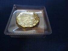 Atocha Gold Layered Metal Souvenir Spanish Galleon Shipwreck Coin Nice Weight