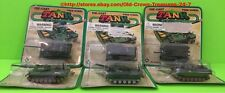 Lot Of 6 Free Wheel Die Cast Army Military Tanks NEW Collectible Gift