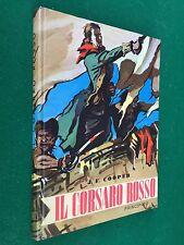 J.F.COOPER - IL CORSARO ROSSO , Ed Principato (1966) Libro illustrato
