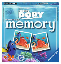 New! 21220 Ravensburger Finding Dory Memory Card Game Disney Puzzle Children 3+