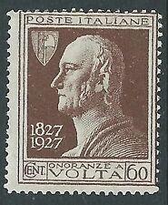 1927 REGNO VOLTA 60 CENT MNH ** - CZ25-9