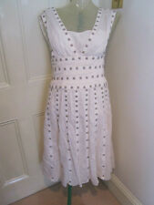 Temperley Cream dress SZ UK 12 US 8