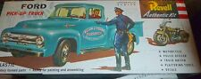REVELL 1/48 1956 FORD PICKUP Model Car Mountain HARLEY POLICE MOTORCYCLE FS 1430