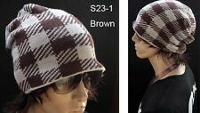 Cool Thick Knitted Beanie Hat Baggy Slouch Design - Hip Hop Style