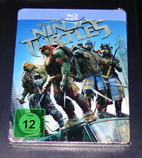 TEENAGE MUTANT NINJA TURTLES LIMITIERTE STEELBOOK EDITION BLU RAY NEU & OVP