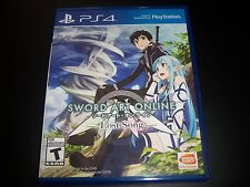 Replacement Case (NO GAME) SWORD ART ONLINE LAST SONG PlayStation 4 PS4 Box