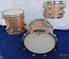 VINTAGE~60's~CAMCO OAKLAWN ILLINOIS~ 3pc DRUM KIT~ ALL ORIG-XLNT~BARELY PLAYED