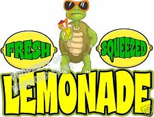 """Fresh Squeezed Lemonade Decal 24"""" Turtle Drink Food Truck Restaurant Concession"""