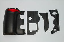 NIKON D700 4 PIECE FRONT/REAR/ GRIP RUBBER SET NEW REPAIR PARTS+ Tape