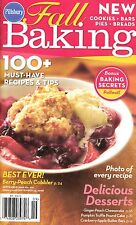 FALL BAKING PILLSBURY COOKBOOK SEPTEMBER 2008 #327 COOKIES, COBBLER, BREAD, MORE