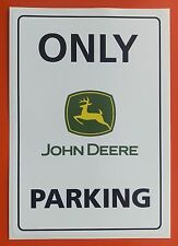 JOHN DEERE Parking  STICKER DECAL large 200mm x 135mm Tractor Agriculture