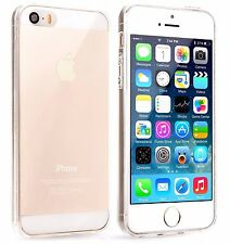 Clear Ultra Thin TPU Silicone Gel Slim Soft Case Cover for iPhone 5 / 5S / SE