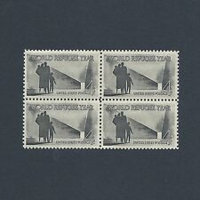 1960 World Refugee Year - Vintage Mint Set of 4 Stamps 56 Years Old!