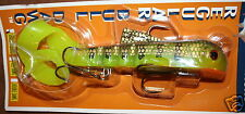 "9"" Shallow Bull Dawg Musky Innovations Pike Lure Perch Plastic Bodied Jerkbait"
