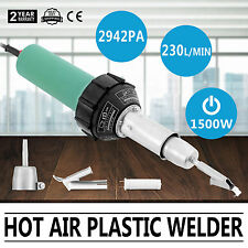 1500W Hot Air Torch Plastic Welding Gun Welder Pistol Spare Heater Sealing Kit