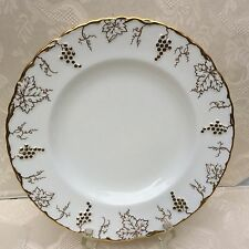 "ROYAL CROWN DERBY ...""VINE."".. GOLD... BREAD & BUTTER PLATE"