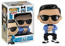 FUNKO POP ROCKS GANGNAM STYLE PSY #36 RETIRED Vinyl 3 3/4 Figure In Stock