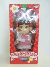 "EASTER! RARE LTD 10"" Fujiya Milky Peko Happy USA Chan Bunny Costume Doll Figure"