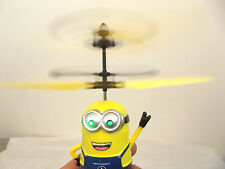 Despicable Me Figure Flying Minion Remote hand sensor Helicopter Toys U.K SELLER