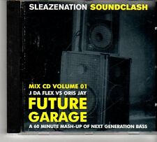 (FD672) J Da Flex vs Oris Jay, Future Garage, 16 tracks - 2003 Sleazenation CD
