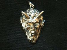 925 argento Sterling PAN / Horned God CIONDOLO / pagane / WICCA / WITCH / Goth