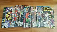 avengers west coast comic lot