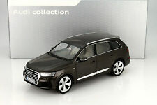 Minichamps 2015 Audi Q7 Brown Metallic 1:18 Rare Dealer Edition*New!