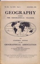 GEOGRAPHY-geographical association journal-DEC 1939-FINLAND & THE WINTER FREEZE.