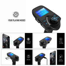 Wireless Bluetooth LCD Car AUX FM Transmitter USB Charger Audio MP3 Handsfree