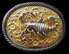 SCORPION ZODIAC ASTROLOGY HOROSCOPE BELT BUCKLE BOUCLE DE CEINTURE
