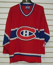 MONTREAL CANADIENS jersey starter AUAUTHENTIC sz. Large MINT RaRe NHL Hockey