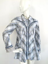 Odd Molly 450 Womens Check Shirt Long sleeve size 3