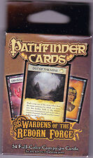 Wardens of the Reborn Forge Campaign Deck Cards Pathfinder Game Aid Gamemastery