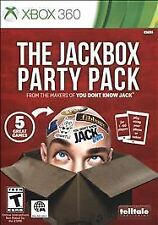 XBOX 360 JACKBOX PARTY PACK NEW 5 GREAT GAMES IN ONE