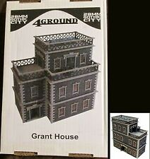 4Ground 28F-GOC-203 28mm Gothic City Grant House (1) Miniature Terrain Building