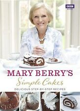 Simple Cakes by Mary Berry (New Hardback Book) BBC Books