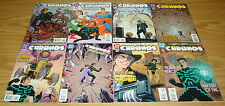 Chronos #1-11 VF/NM complete series - time travel - dc comics 2 3 4 5 6 7 8 9 10