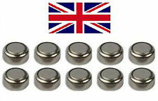 10 x 1.55V Button Coin Cell Battery Batteries AG13 AG-13 LR44 S76 AG14 L1154G