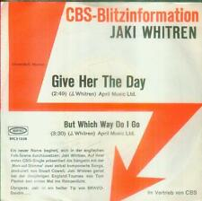 "7"" Jaki Whitren/Give Her The Day (CBS Blitzinformation)"