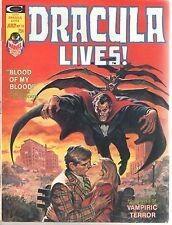 Dracula Lives! Marvel Monster July 1975 No 13 Stan Lee FN/VF Curtis Soul-Shocker