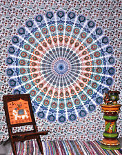 Mandala Tapestry Cotton Flat Sheet Bed Spread Curtain Couch Cover Blanket Yoga E