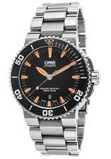 NIB Oris Aquis Date Automatic Diver on Bracelet, 43mm,MSRP: $2750, 10+ Pics