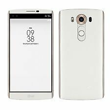 "New Imported LG V10 Duos Dual Sim 64GB 4GB 5.7"" 16MP 5MP Dual Cam White"
