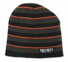 "CALL OF DUTY ""BLACK OPS"" REVERSIBLE BEANIE HAT NEW OFFICIAL"